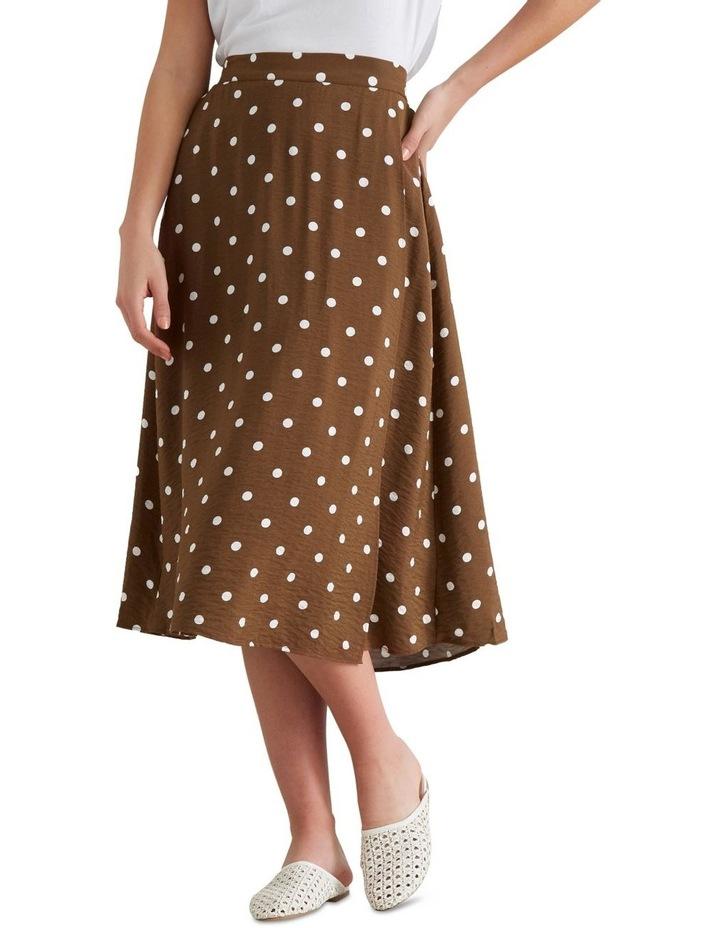 Wrap Spotty Skirt image 4