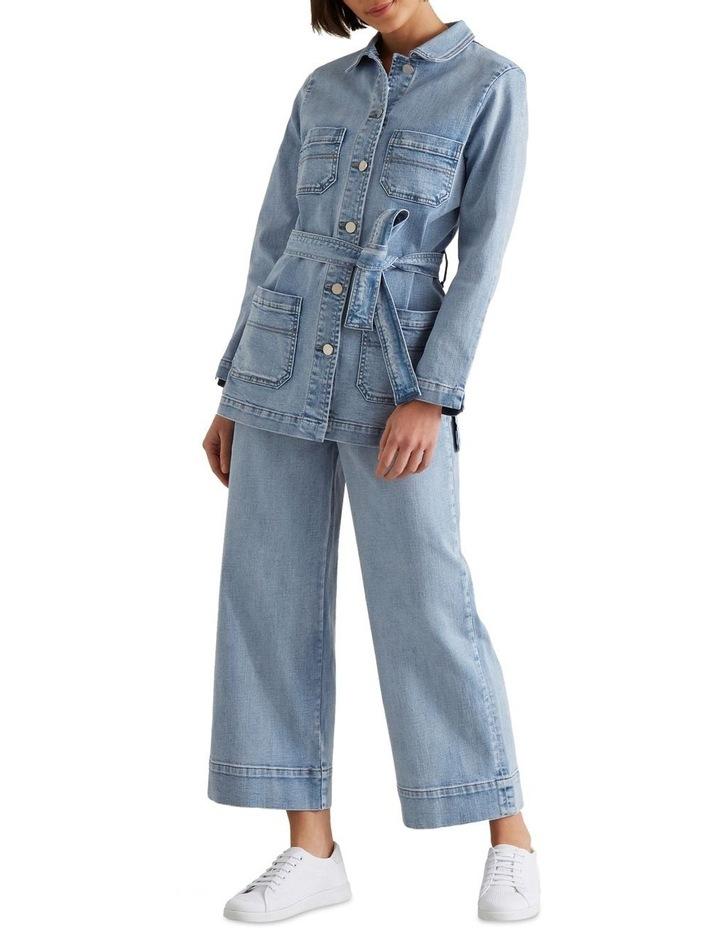 Mini Pocket Denim Pant image 1