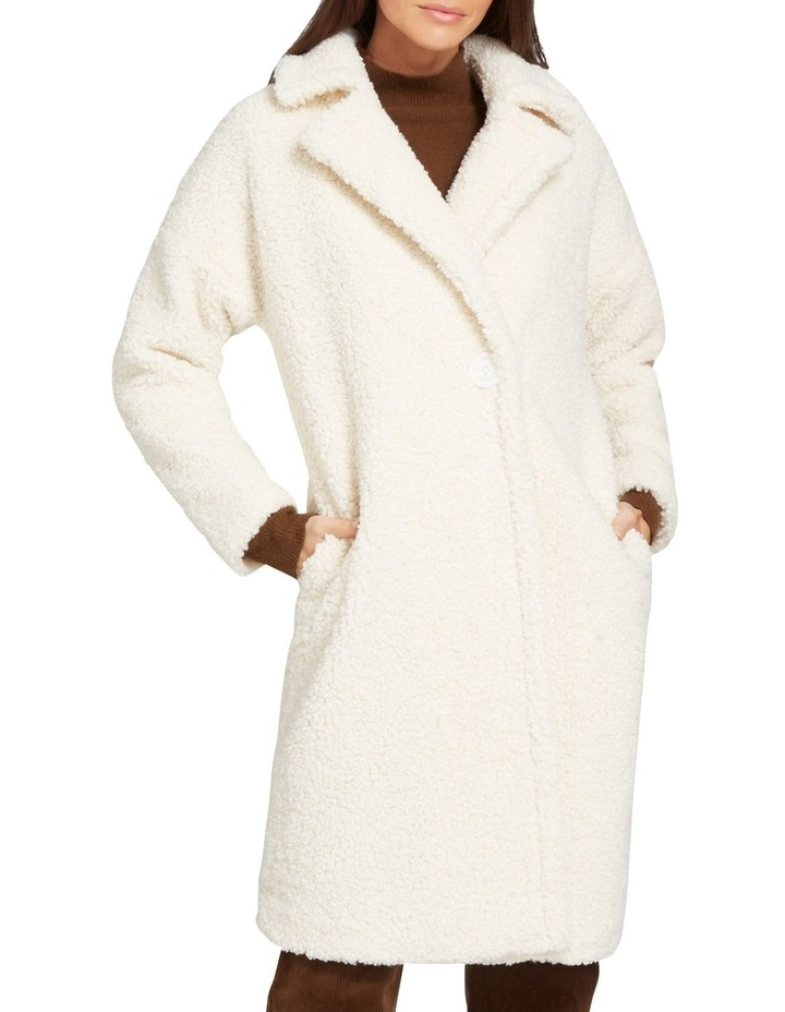 Longline Teddy Coat image 1