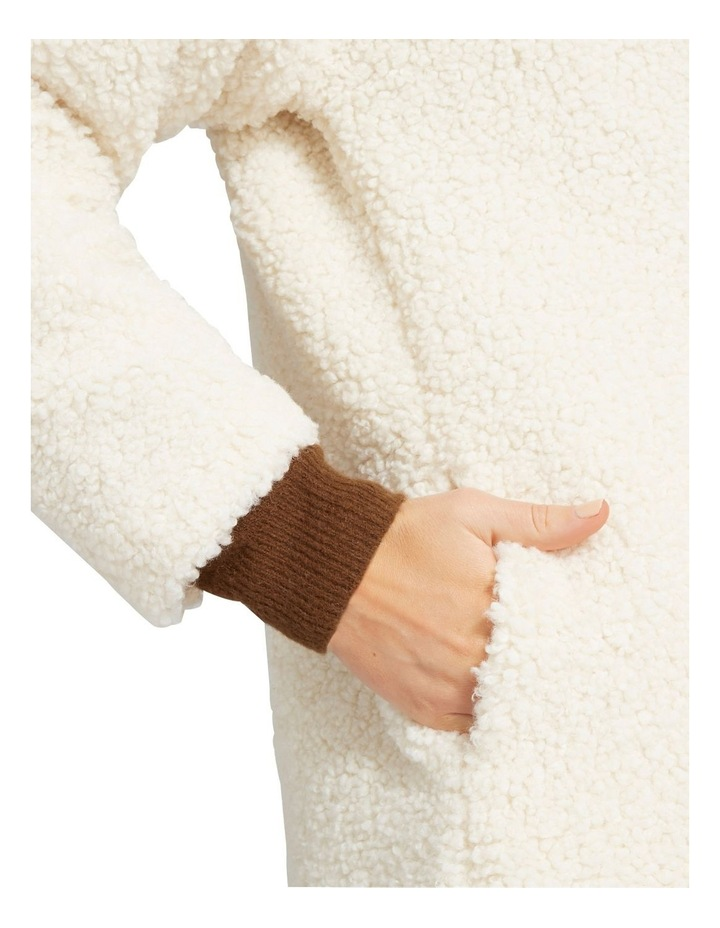 Longline Teddy Coat image 4