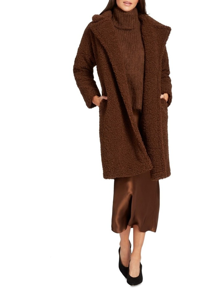 Longline Teddy Coat image 2