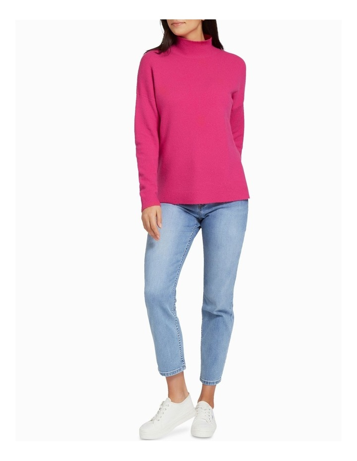 High Neck Comfy Sweater image 2