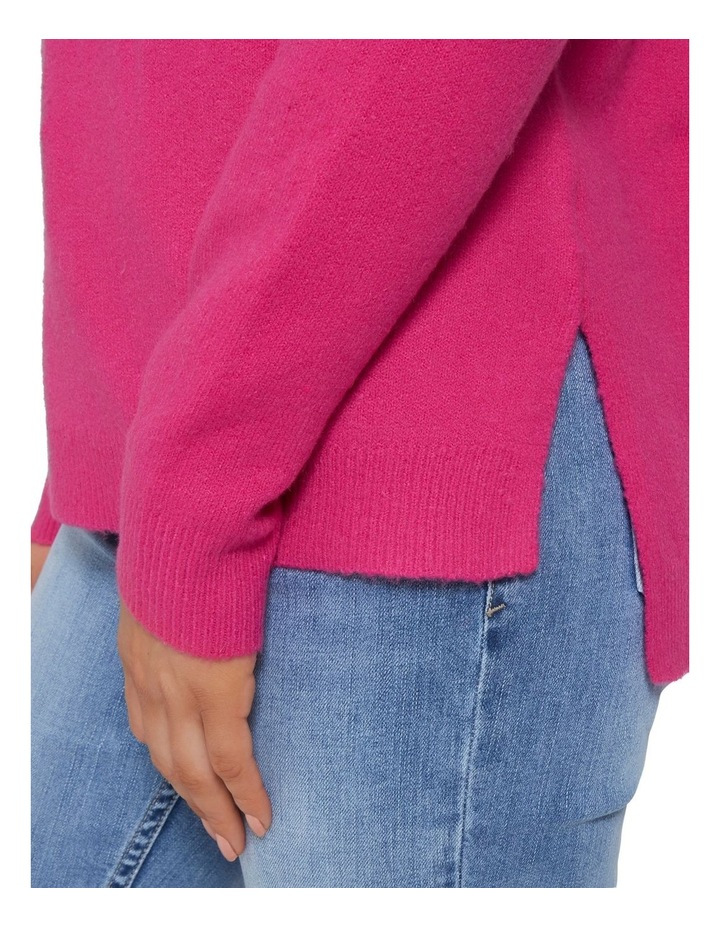 High Neck Comfy Sweater image 4