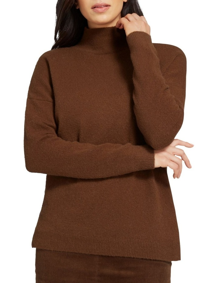High Neck Comfy Sweater image 1