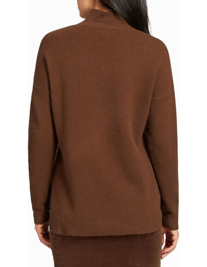High Neck Comfy Sweater image 3