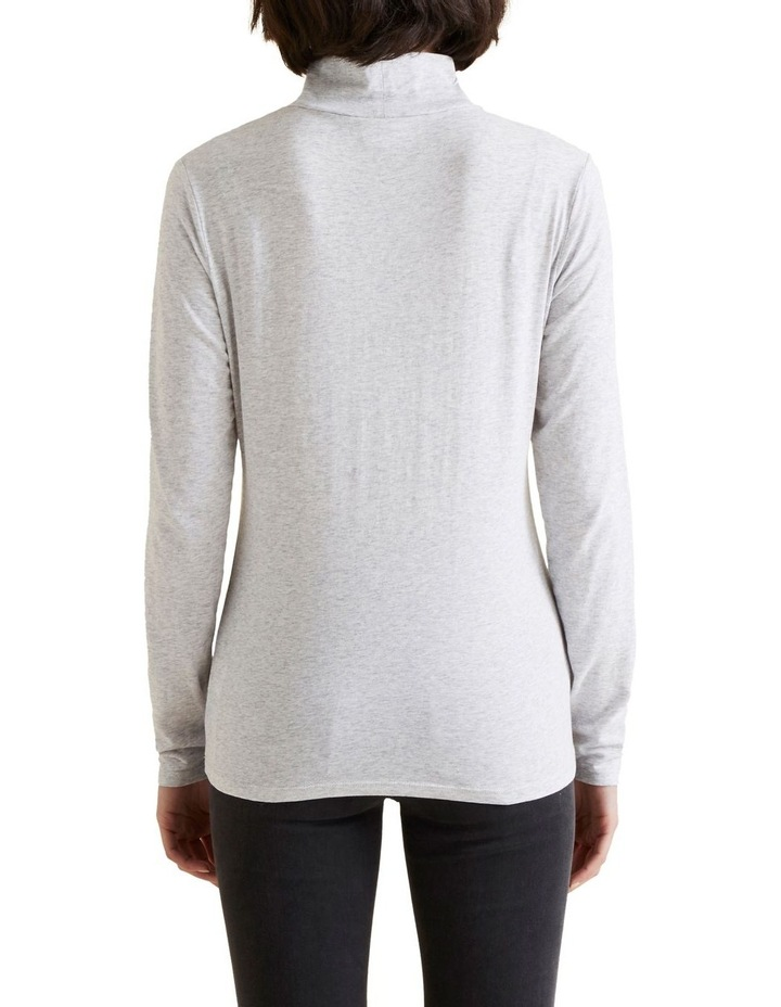 Classic Roll Neck Top image 3