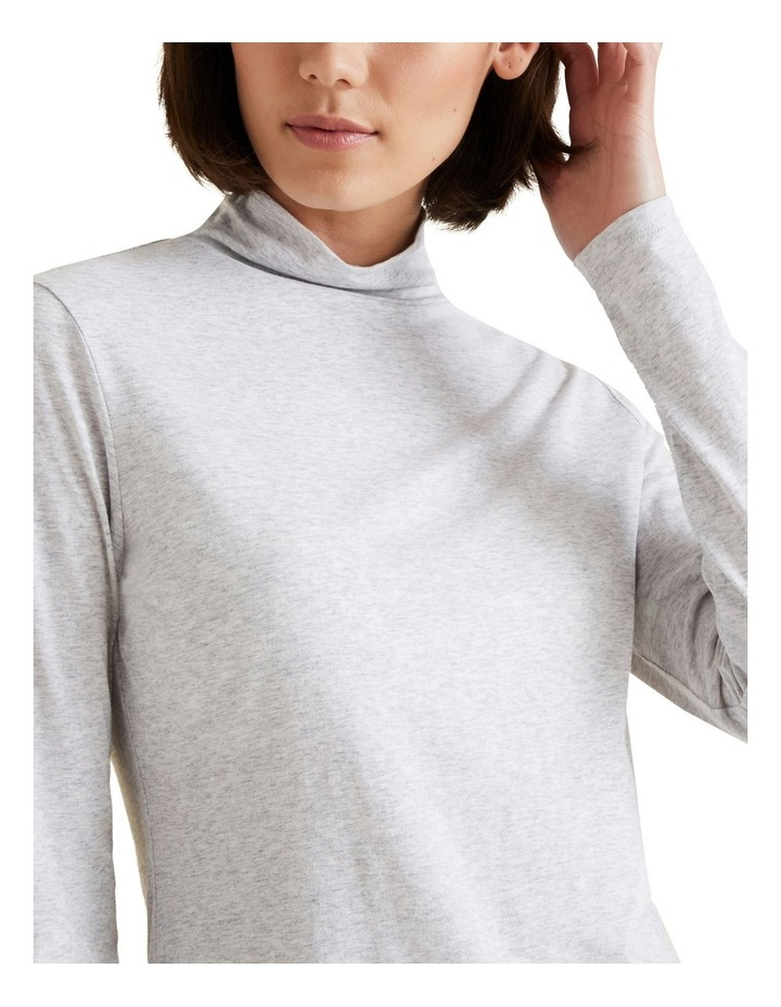 Classic Roll Neck Top image 4