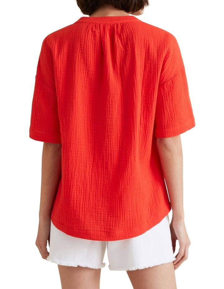 Textured Crinkle Blouse image 3