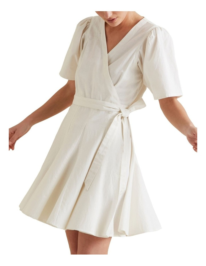Mini Fluted Hem Dress image 1