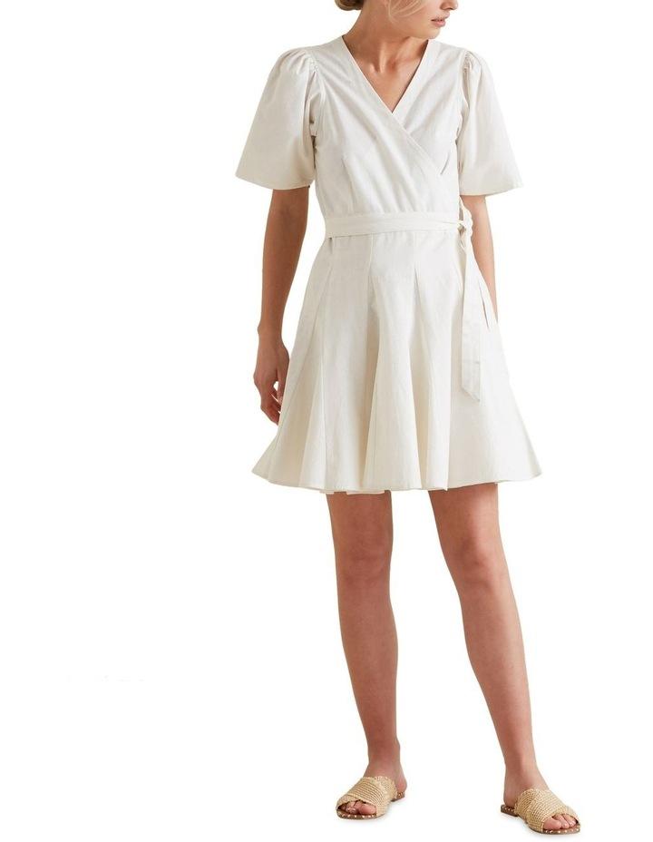 Mini Fluted Hem Dress image 2