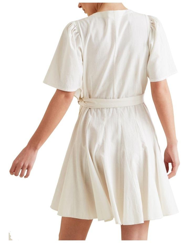 Mini Fluted Hem Dress image 3