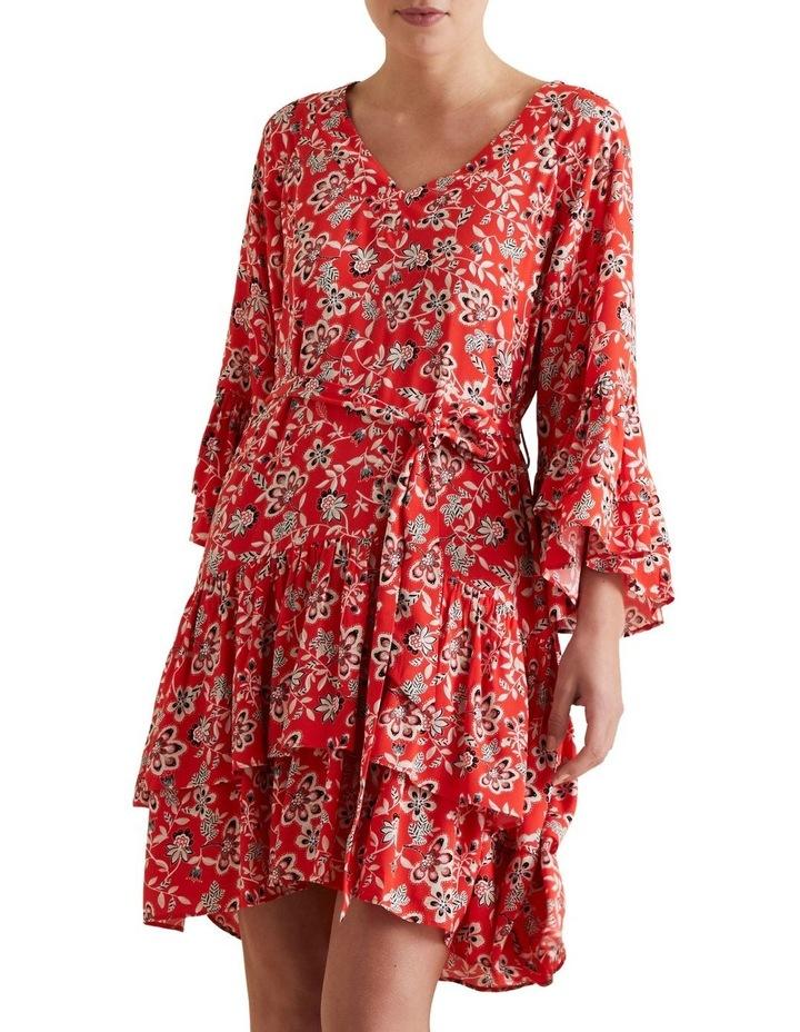 Tiered Ruffle Dress image 1