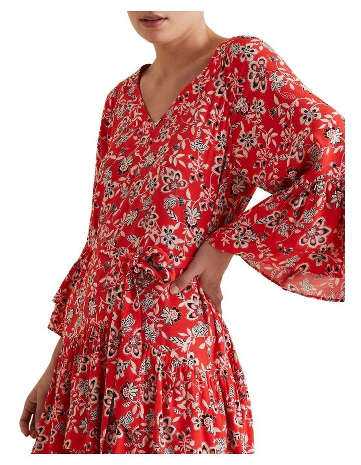 Tiered Ruffle Dress image 4