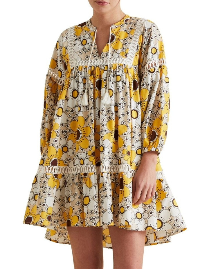 Retro Floral Dress image 1