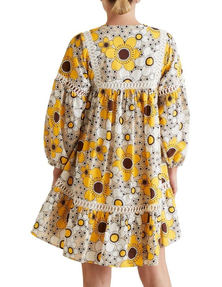 Retro Floral Dress image 3