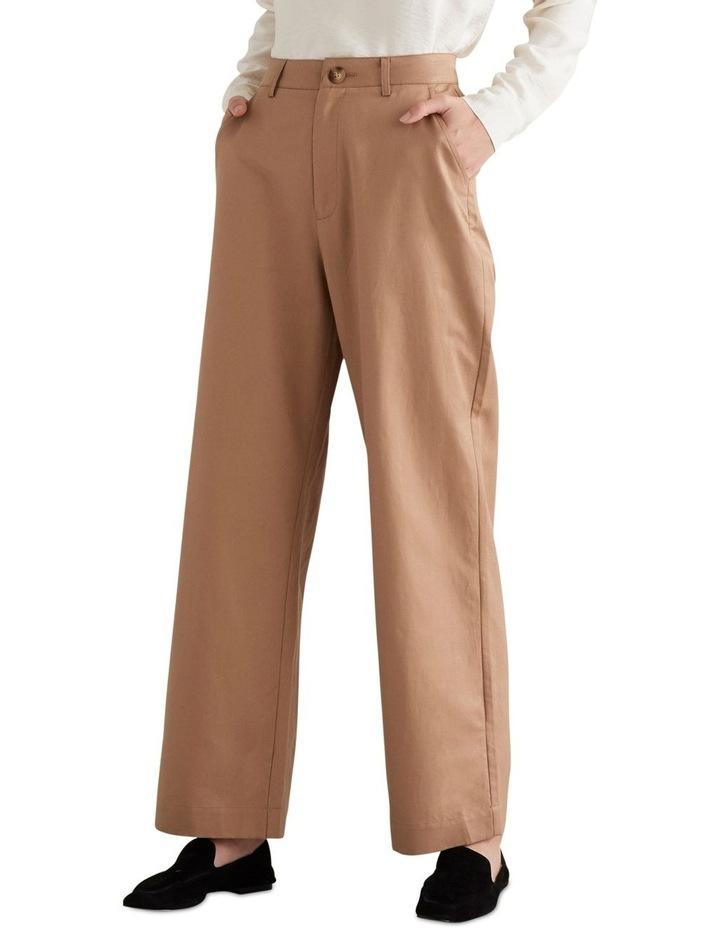 Wide Leg Pleat Pant image 1