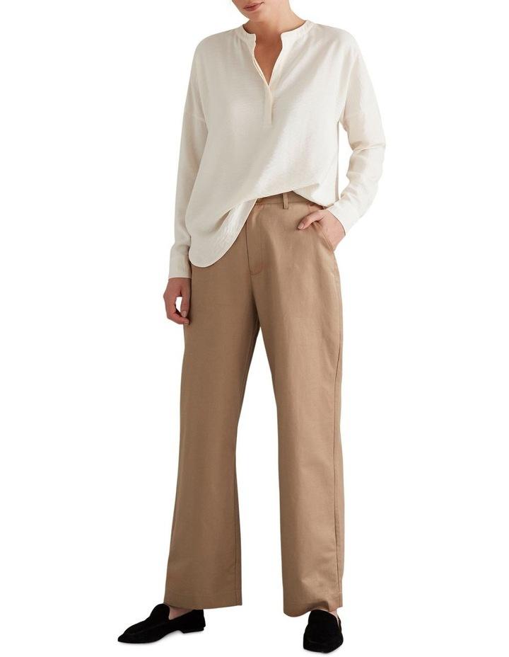 Wide Leg Pleat Pant image 2
