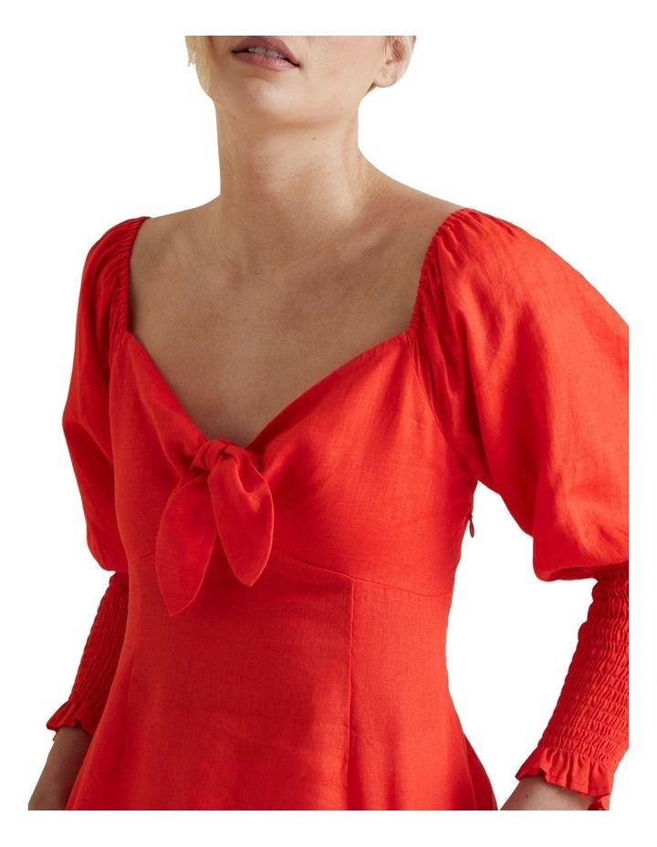Bow Front Linen Blouse image 4