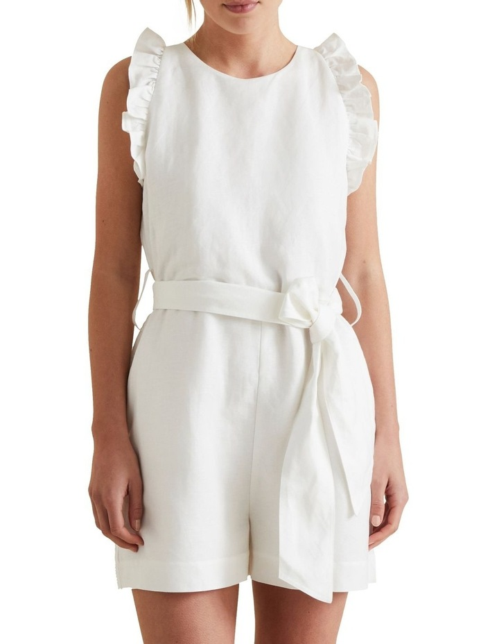 Linen Solid Playsuit image 1