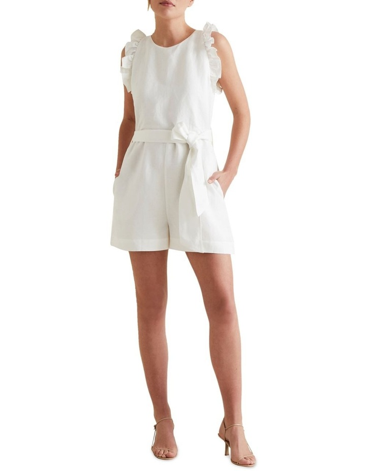 Linen Solid Playsuit image 2