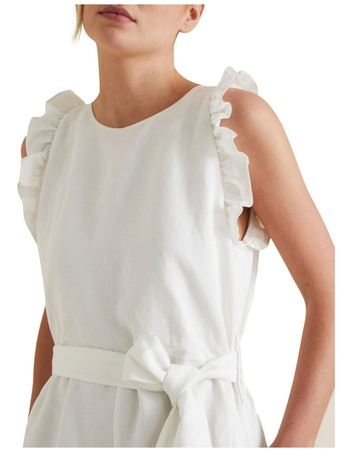 Linen Solid Playsuit image 4