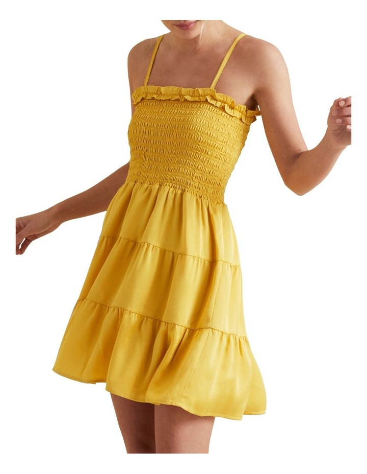 Textured Stripe Mini Dress image 1