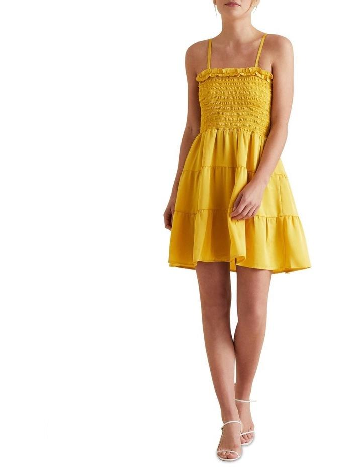 Textured Stripe Mini Dress image 2