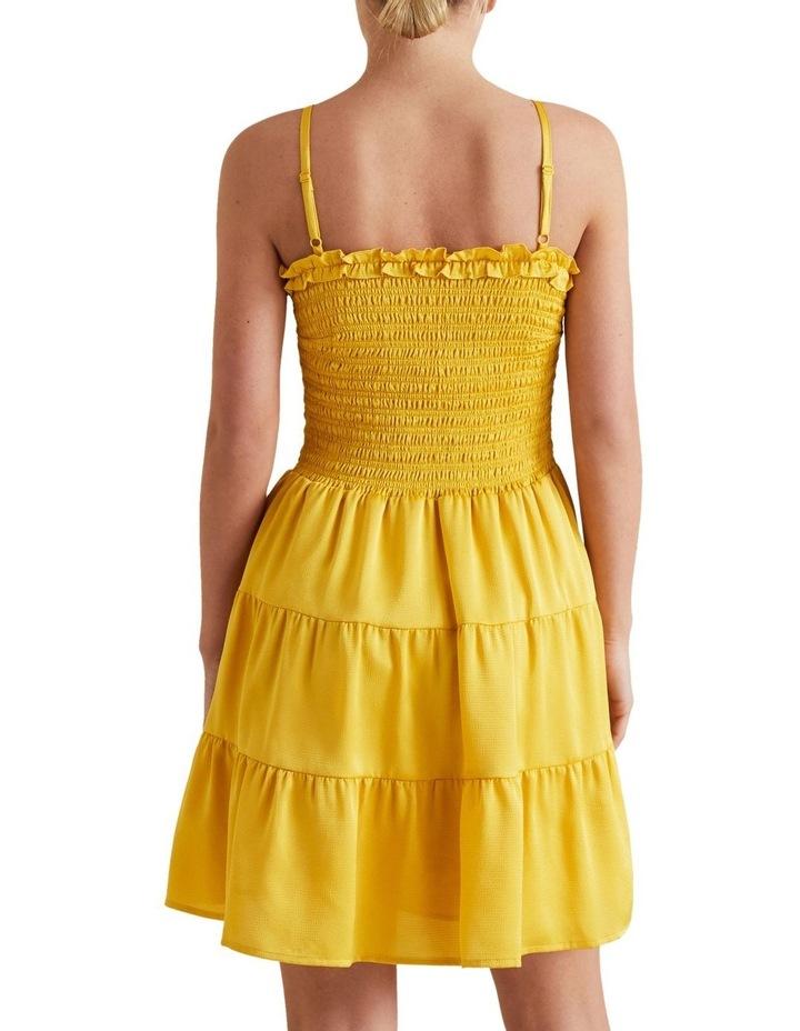 Textured Stripe Mini Dress image 3