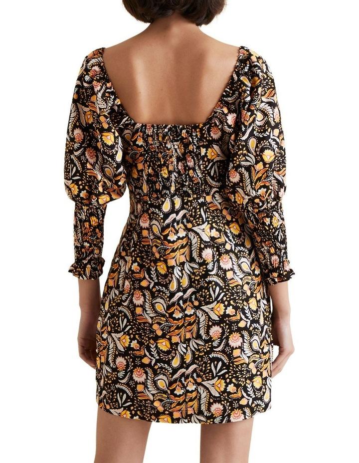 Puff Sleeve Dress image 3