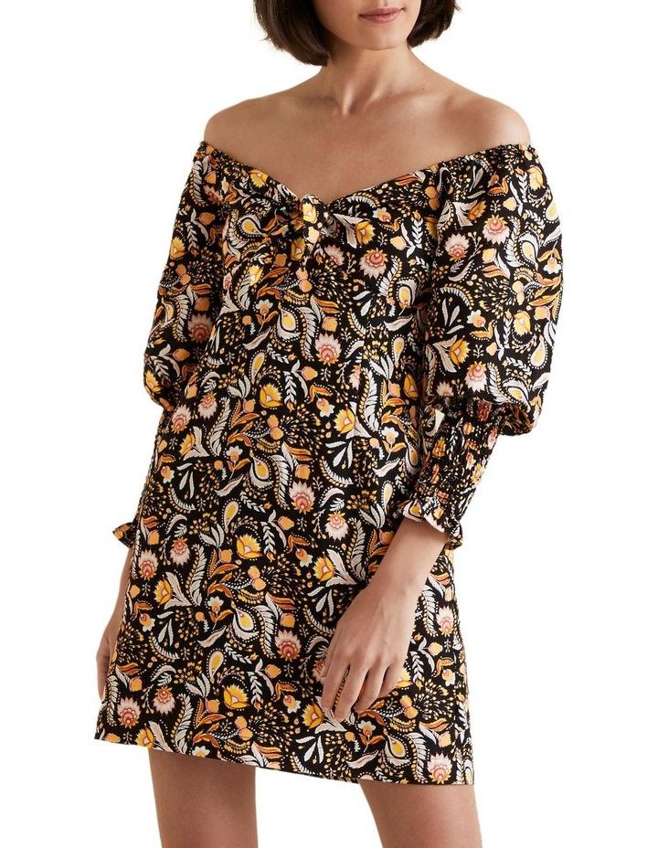 Puff Sleeve Dress image 5