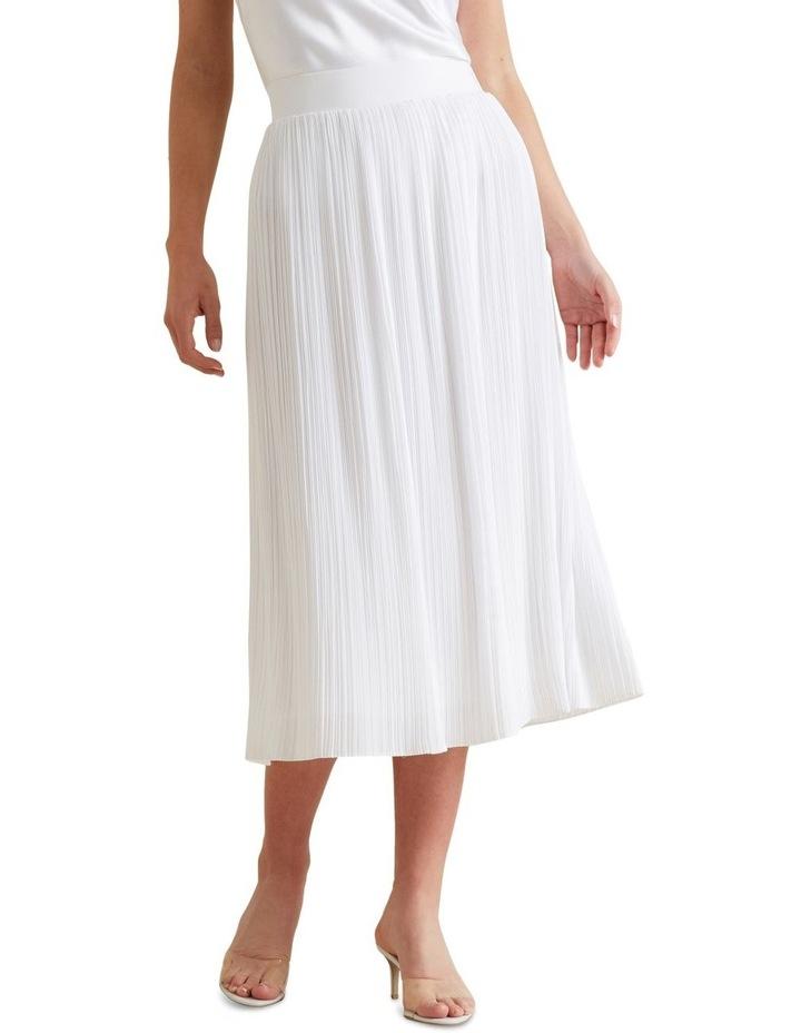 Midi Micro Pleat Skirt image 1