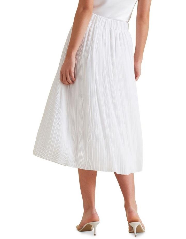 Midi Micro Pleat Skirt image 3