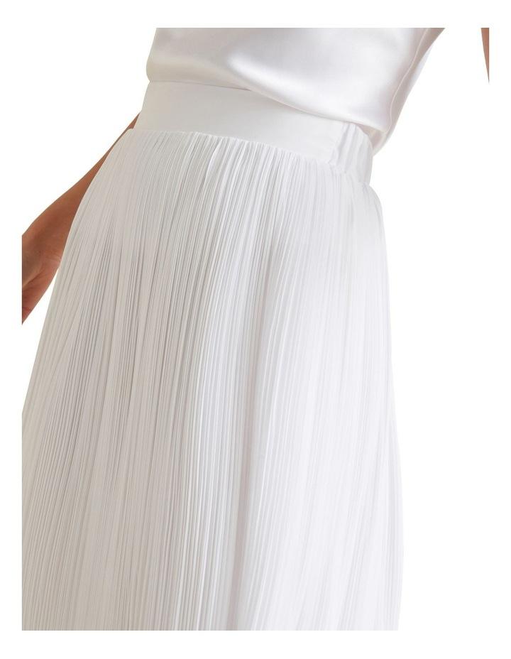 Midi Micro Pleat Skirt image 4