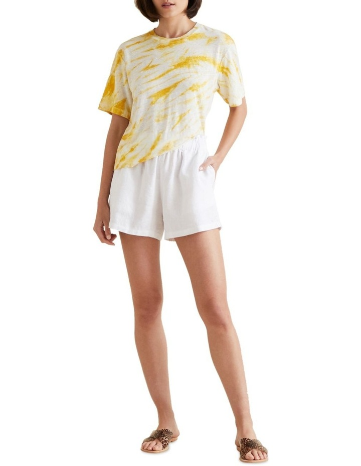 Tie Dye Linen Tee image 2