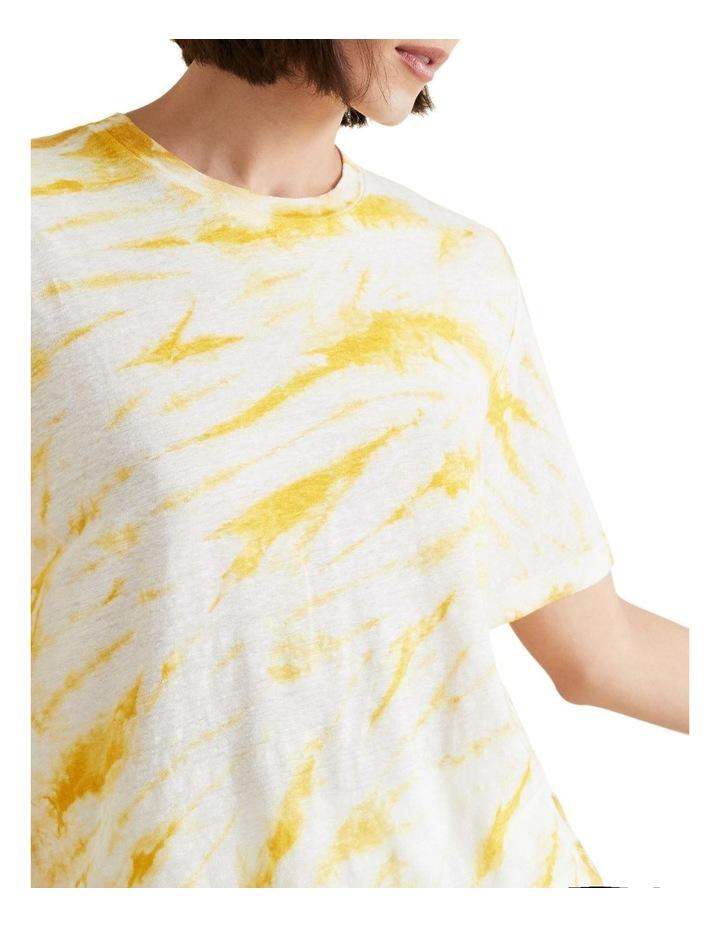 Tie Dye Linen Tee image 4