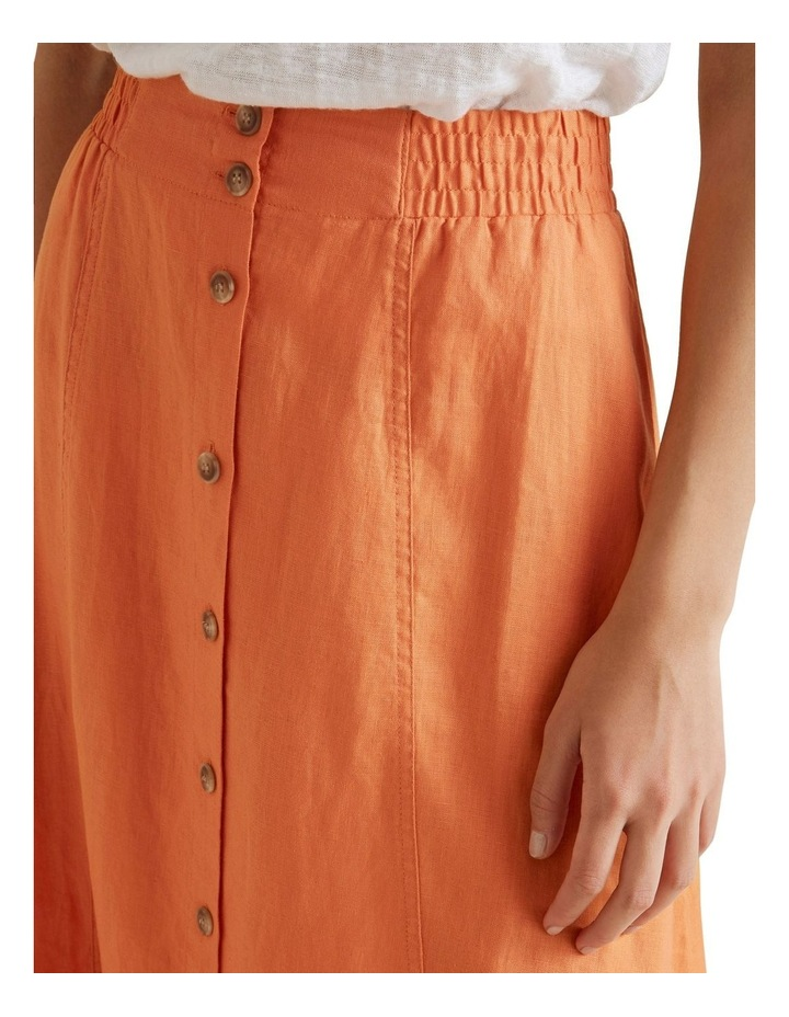 Linen Flowing Skirt image 4