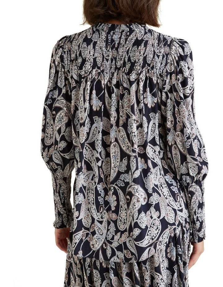 Paisley Shirred Blouse image 3