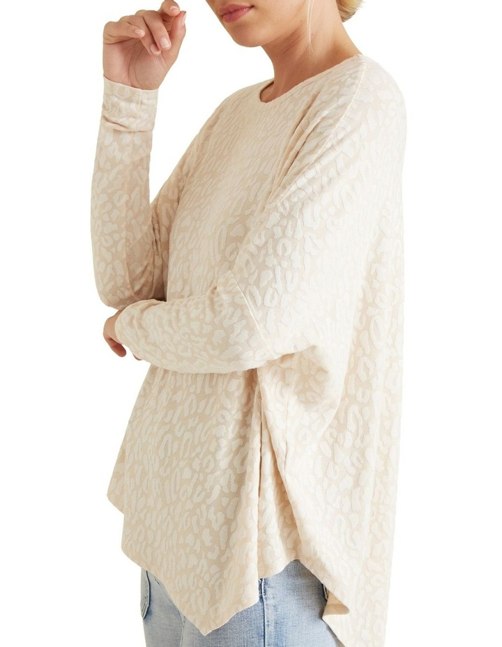 Ocelot Asymmetrical Sweater image 4