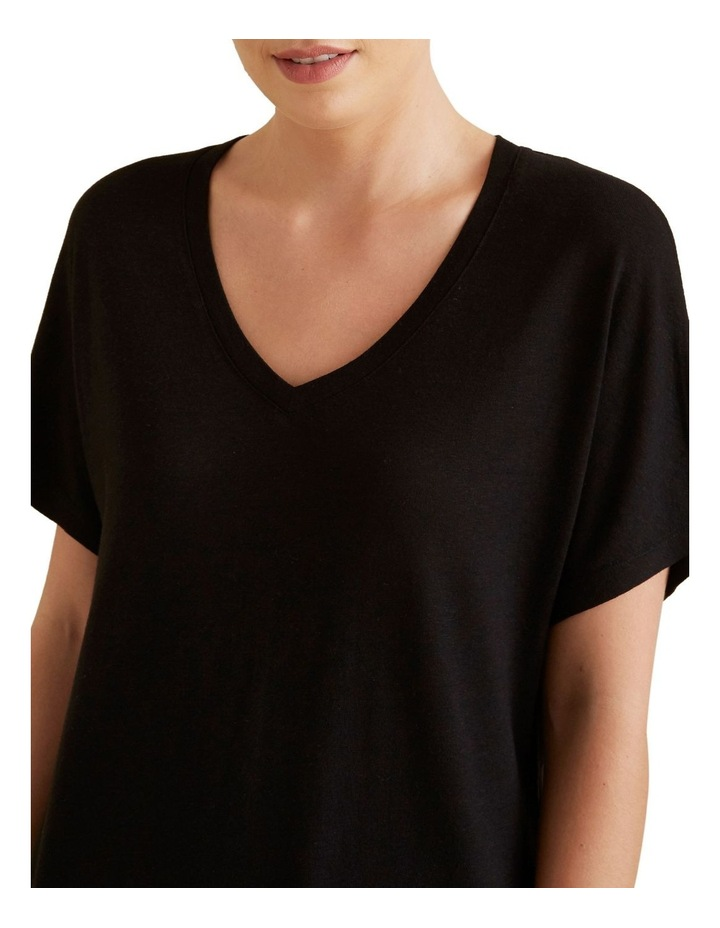 V Neck Classic Tee image 4