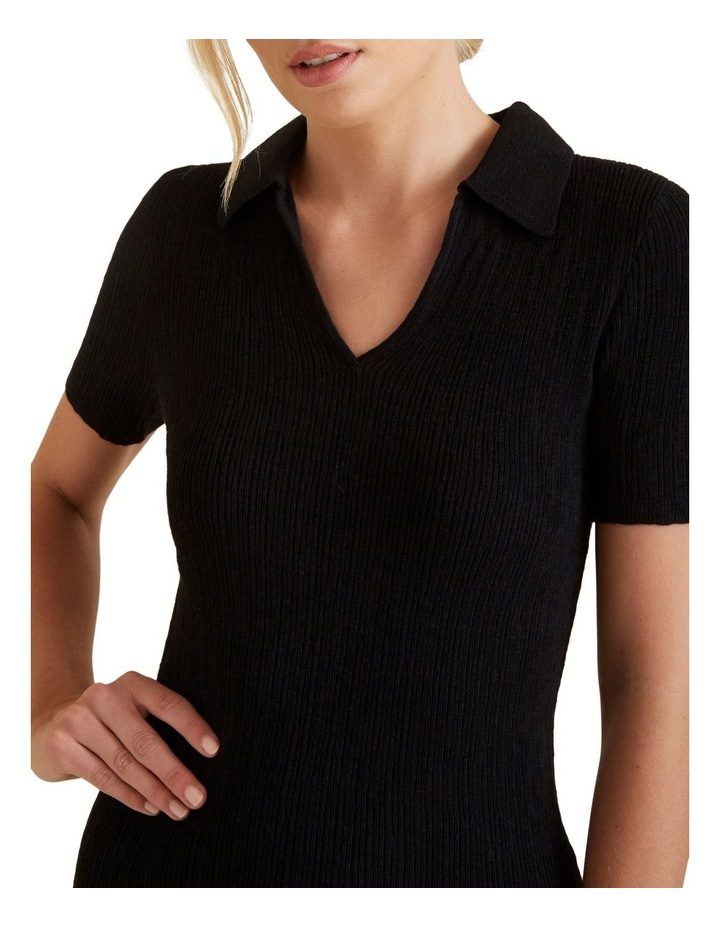 Collared Neat Top image 4