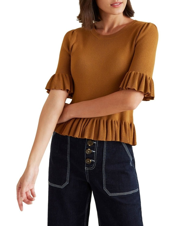 Frill Knit Top image 1