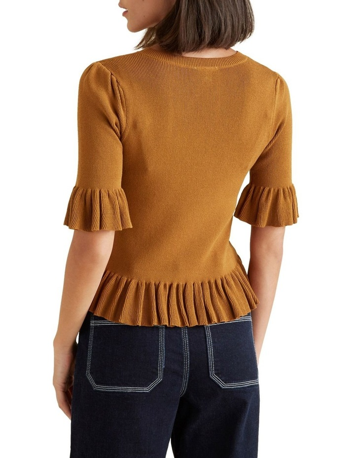 Frill Knit Top image 3