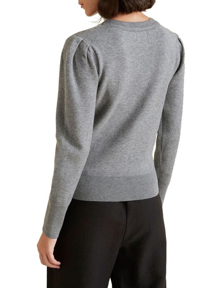 Puff Sleeve Knit image 3