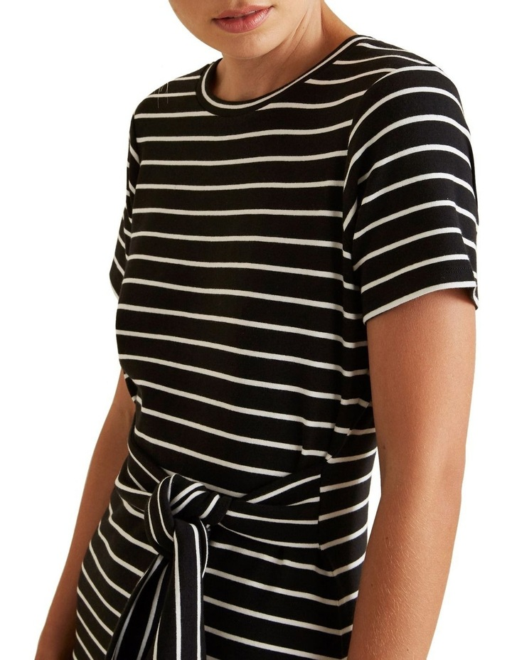 Tie Up T Shirt Dress image 4