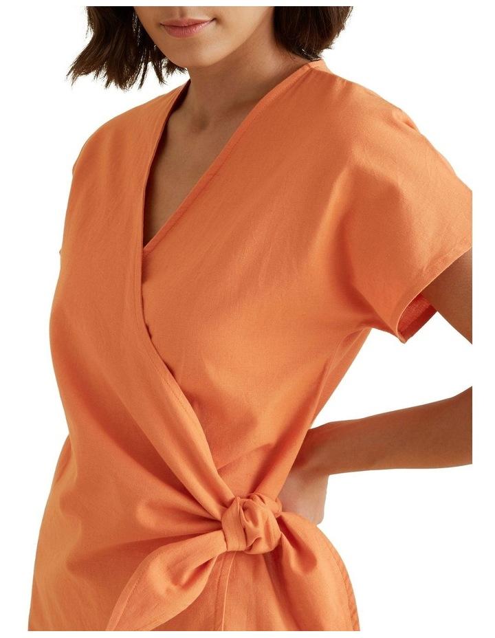Wrap Around Mini Dress image 4