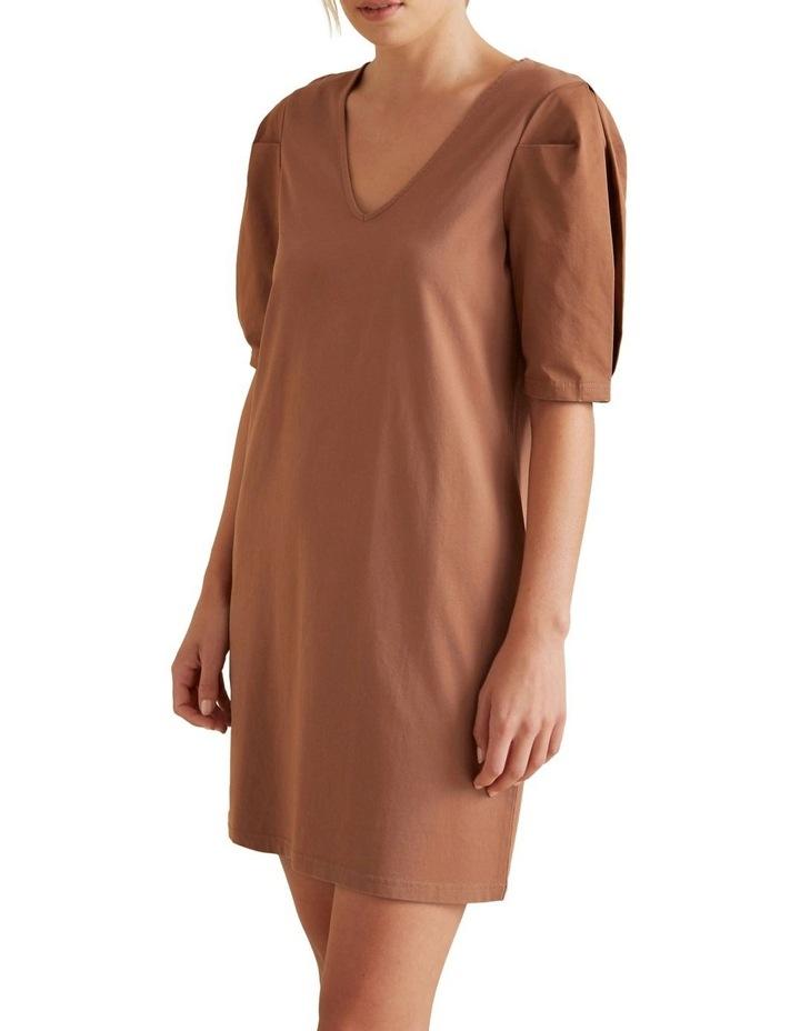 Mini Puff Sleeve Dress image 1