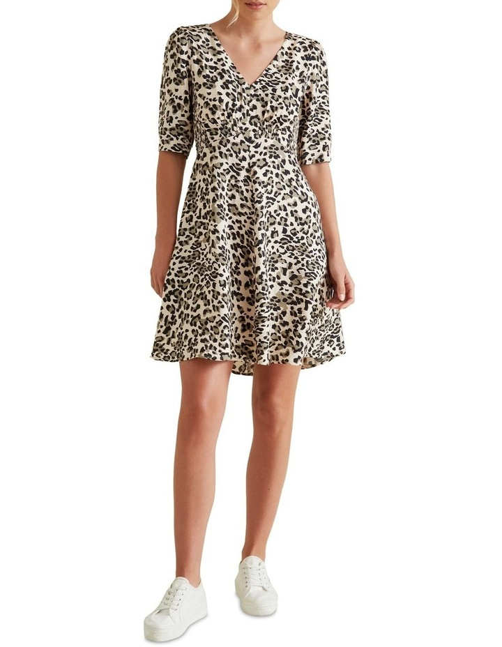 Mini Shirred Animal Dress image 2