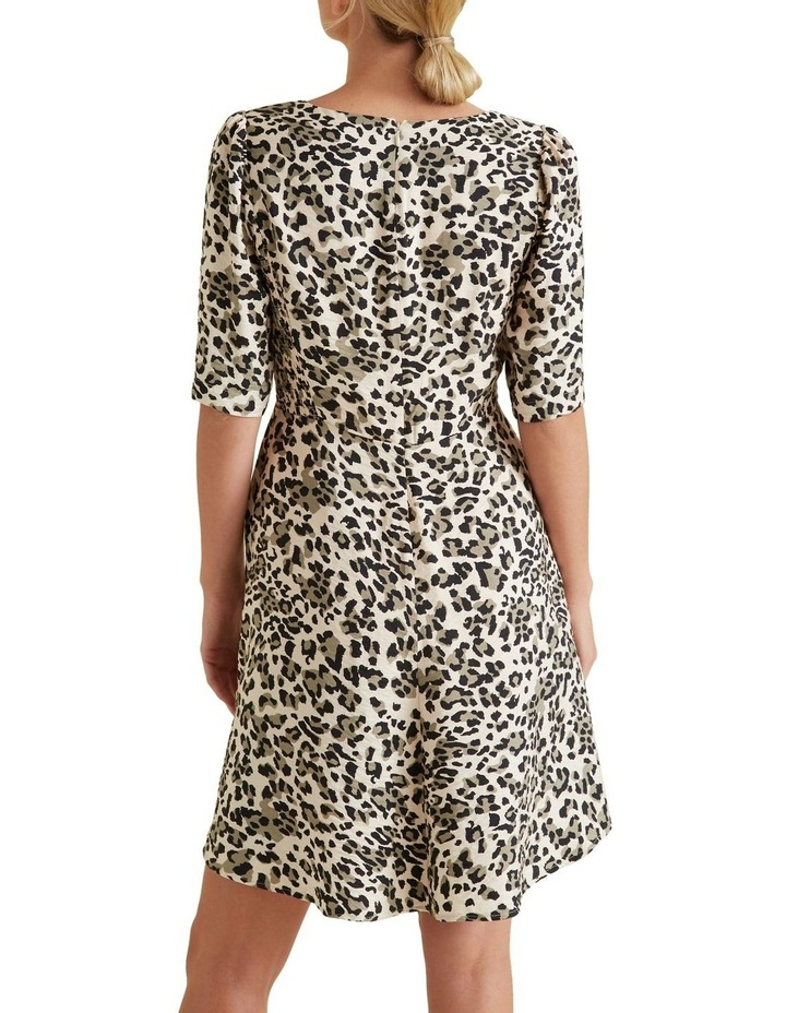 Mini Shirred Animal Dress image 3