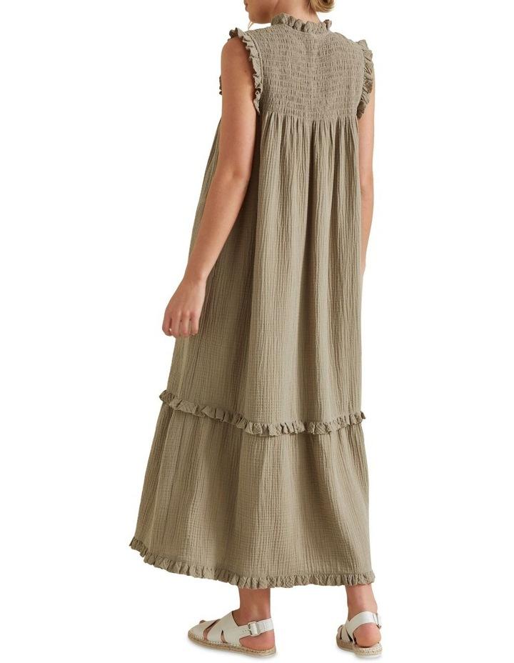 Shirred Crinkle Dress image 3