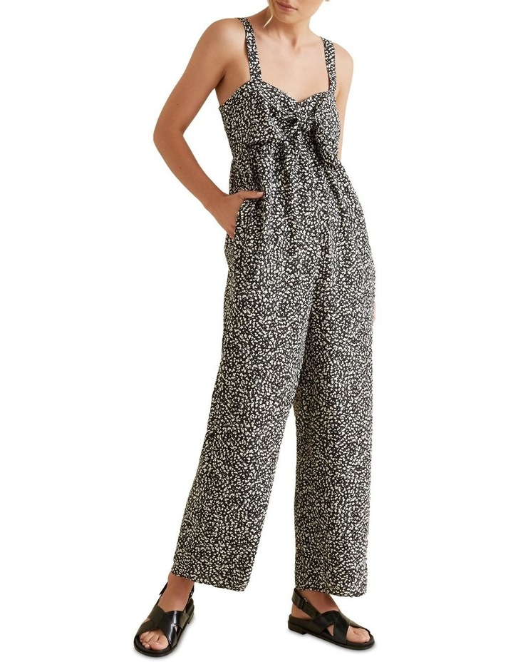 Bow Front Animal Jumpsuit image 1
